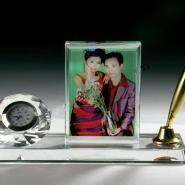 水晶会议用品水晶工艺品水晶纪念品图片
