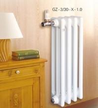 供应钢制圆三柱散热器 GZ3-1.0-600型钢制三柱散热器