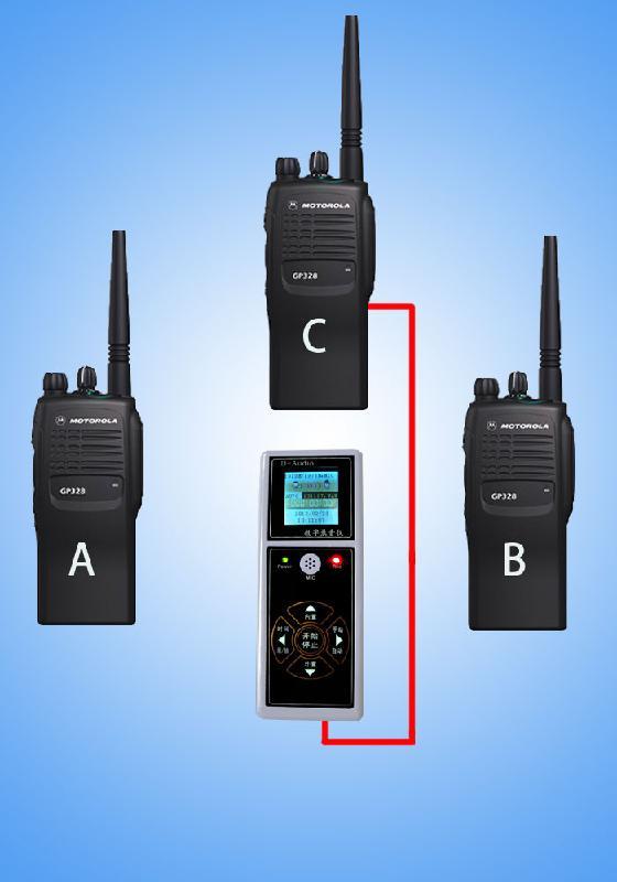 供应对讲机录音设备