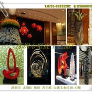 银川酒店艺术品软装配饰抽象雕塑图片