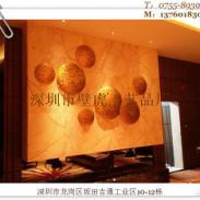 供应深圳酒店金属壁挂背景墙铁艺挂件树脂银箔鱼吊饰厂家直营价格优