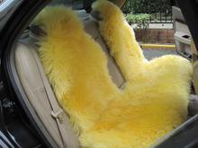供应全长毛汽车坐垫澳毛坐垫羊毛坐垫批发