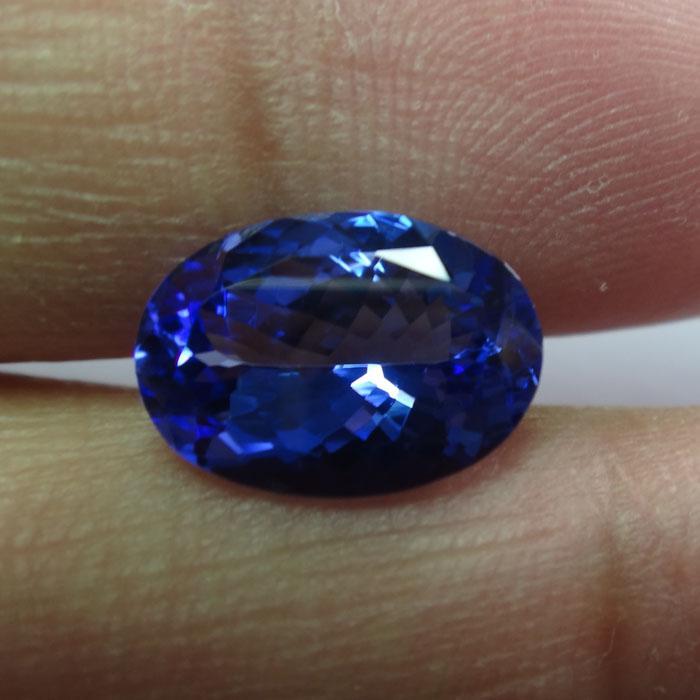 供应坦桑尼亚天然蓝色坦桑石裸石 坦桑石戒面QQ2501326982