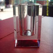 西安水晶笔筒图片