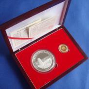 渭南纯银纪念币制作厂家图片
