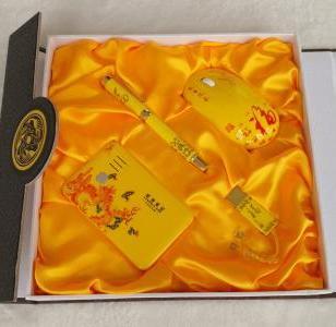 陕西黄瓷优盘定做厂家图片