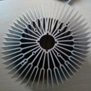 高难度铝合金散热器图片