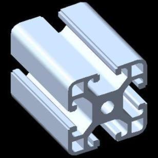 制造工业流水线铝型材图片