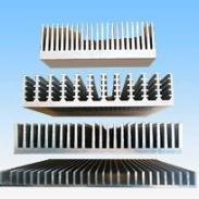 挤压系列铝合金散热器图片