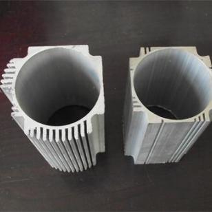 马达气缸外壳型材工业铝型材图片
