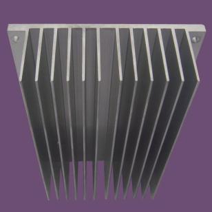 超大异型散热器型材图片