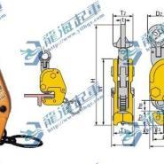 世霸钢板钳-把手式立吊夹具-L图片