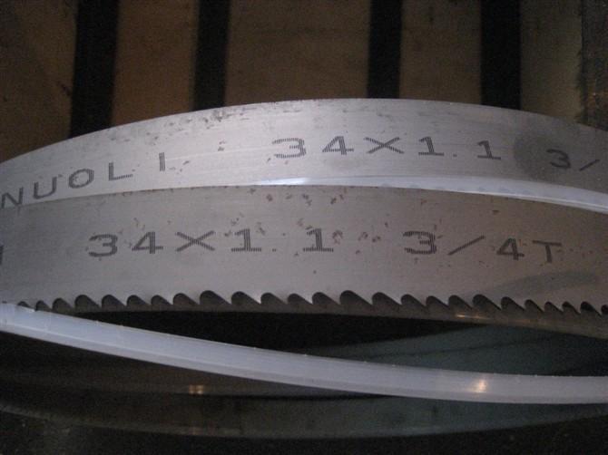 双金属带锯条图片 双金属带锯条样板图 双金属