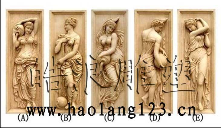 浮雕壁画图片 浮雕壁画样板图 基督教圣母天使浮雕壁画雕...