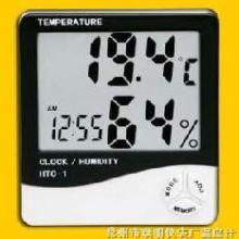 供应HTC-1大屏幕电子温湿度表生产厂家图片