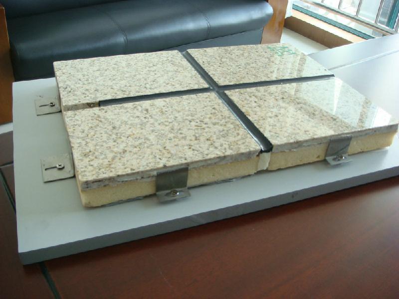 供应聚氨酯保温装饰一体化板大理石图片