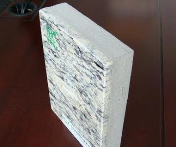 供应A级防火石材保温装饰一体化板(紫点金麻) 江浙沪地区图片