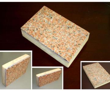供应石材聚氨酯保温装饰一体化板厂家图片
