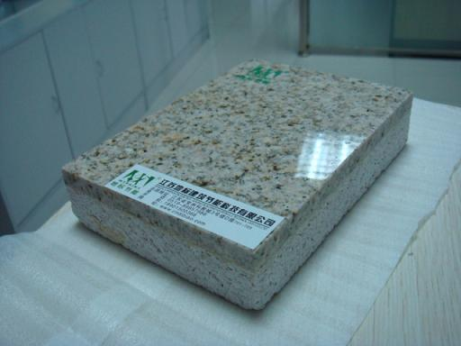 石材一体板代加工保温层(XPS、聚苯板、真金板、黑泡板、聚氨酯复合板、发泡陶瓷、发泡水泥)