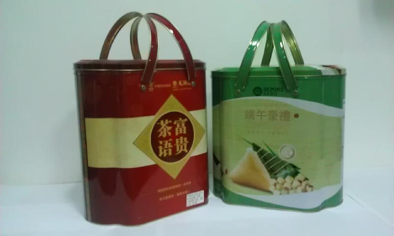 棕子包装手提礼罐图片