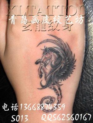 纹身图案想在手上纹图片