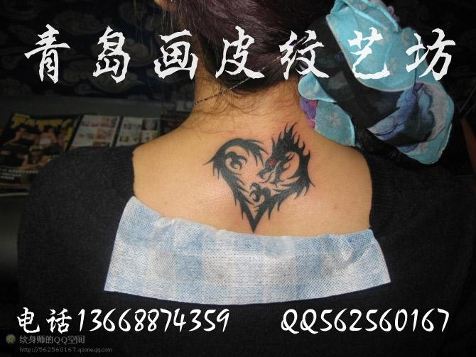 供应脖子后面图腾纹身纹身那个-脖子后面纹身图片大全 我小把脖子后图片