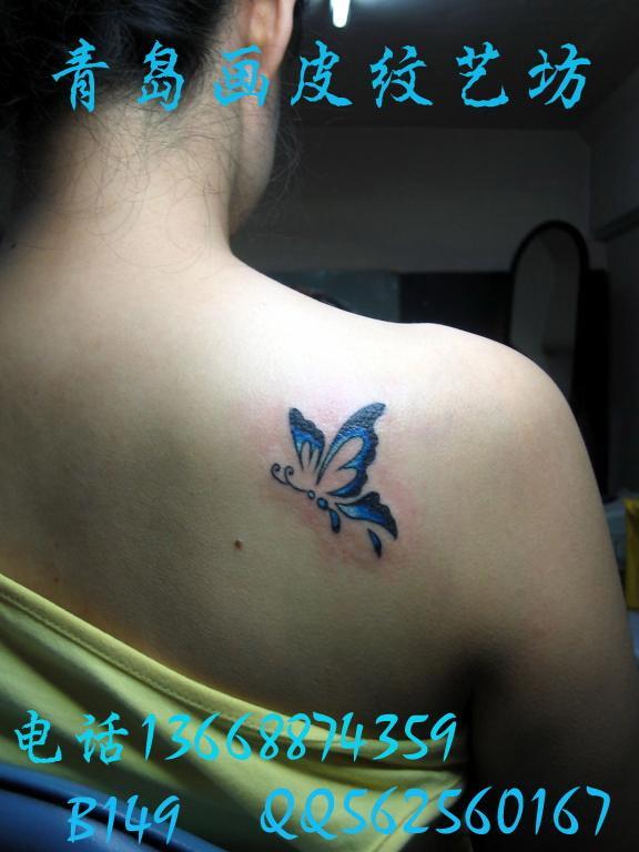 女生内容图片女生图片手背分享图片的的蝴蝶大全头发画纹身