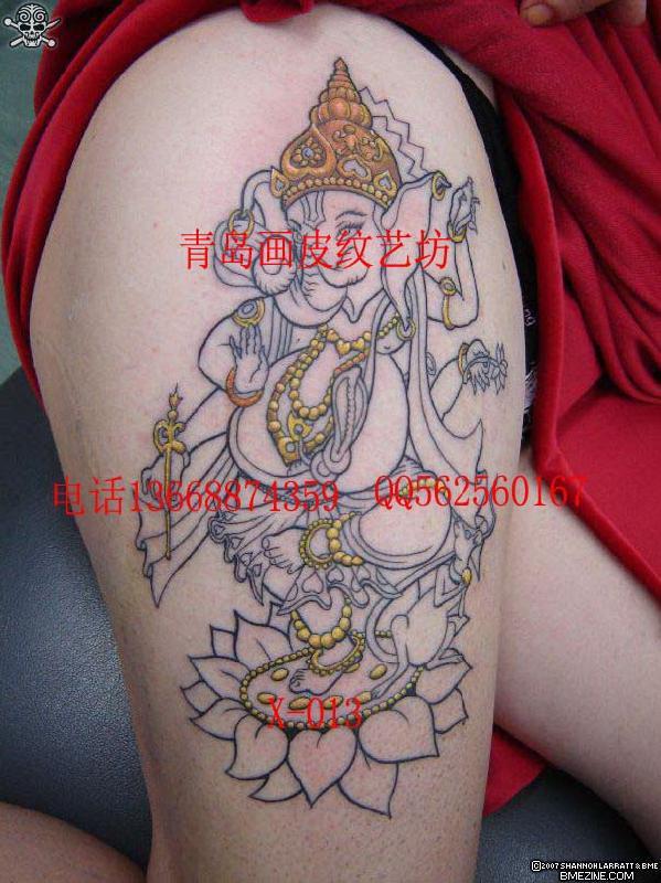 守护神纹身图案大全展示