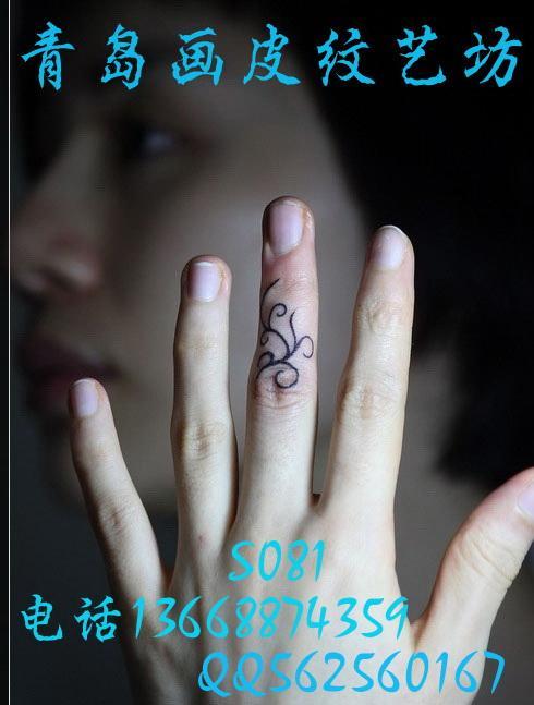 ... 女孩想在手上纹身什么 青岛画皮纹女孩想在手上纹身