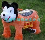 毛绒电动玩具车2毛绒动物电瓶车图片