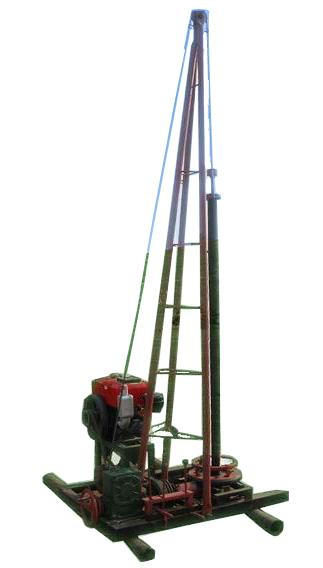 钻井机_长沙市清泉小型钻井机厂家_供应湖南清泉ZJ-50小型钻井机