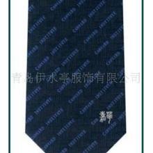 供应宁夏银川真丝涤丝提花印花色织领带丝巾手帕 企业团体单位标志批发
