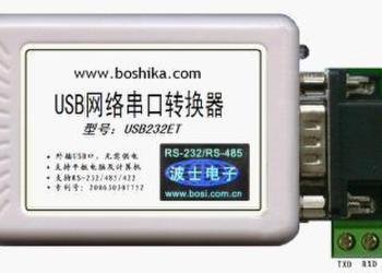 USB网络串口转换器图片