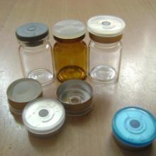 供应3毫升透明西林瓶3ML透明西林瓶配银色铝塑复合盖橡胶塞批发
