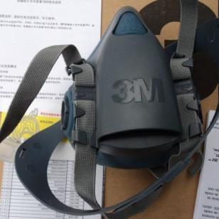 巨鹿3M7502喷漆专用面具舒适型图片