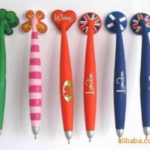 供应PVC软胶笔/PVC礼品笔/PVC广告笔/橡胶笔/卡通笔批发