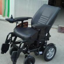 上海威之群1018豪华皮革版 电动轮椅车 大功率电动轮椅靠背可后躺批发