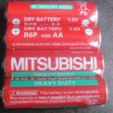 供应三菱5号铁壳电池电压1.5V
