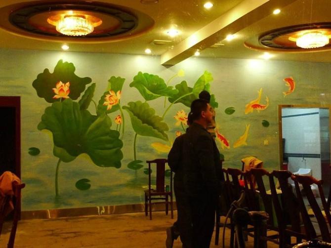 供应手绘壁画