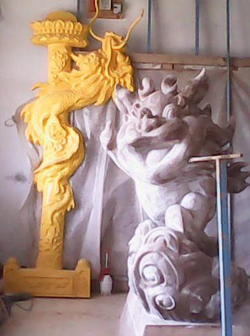 供应麒麟童雕塑