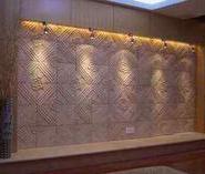 砂岩浮雕背景墙图片