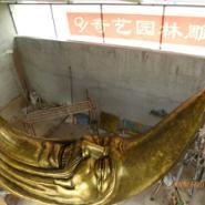 供应玻璃钢仿铜雕塑山东奇艺雕塑厂家