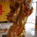 供应麒麟童玻璃钢雕塑