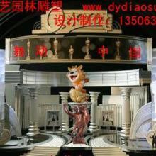 供应舞动中国舞台设计、雕塑制作
