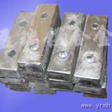 供应淡水铝合金阳极海水铝牺牲阳极