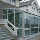 龙华片区阳光房,铝合金阳光房,不锈钢阳光房,玻璃阳光房,玻璃雨篷安装