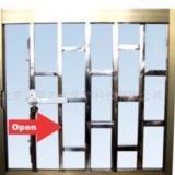 供应宝安区铝合金防护窗哪家便宜