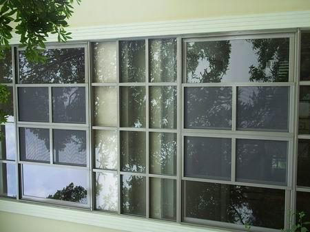 供应别墅纱窗设计制作安装维修