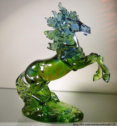 供应大件琉璃白菜摆件琉璃白菜 琉璃十二生肖摆件工艺品