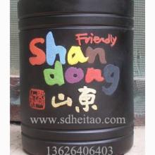 供应黑陶烟灰缸-黑陶工艺品-黑陶笔筒图片